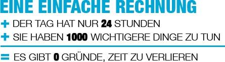 Wilms & Partner in Düsseldorf - Belegtaxi Beispielrechnung